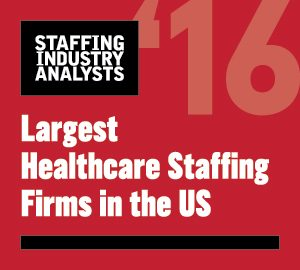 2016 Largest Healthcare Staffing Firms