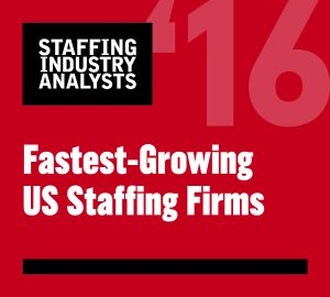 2016 Fastest Growing Staffing Firms