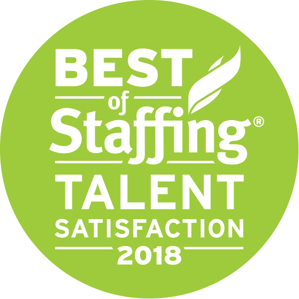 Inavero 2018 Best of Staffing® Talent Award