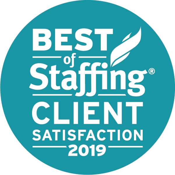 ClearlyRated's 2019 Best of Staffing® Client Award
