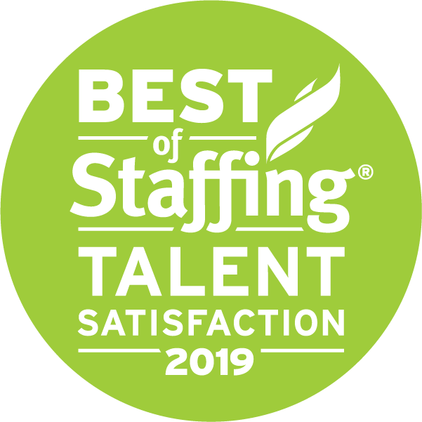 ClearlyRated's 2019 Best of Staffing® Talent Award