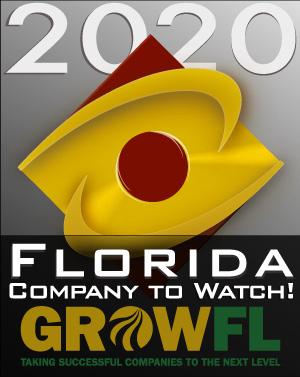 2020 GrowFL Florida Companies to Watch Honoree