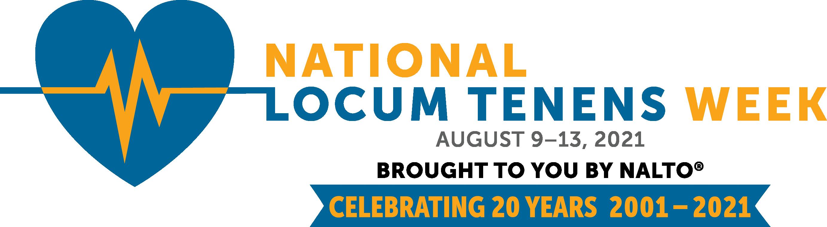 2021 National Locum Tenens Week